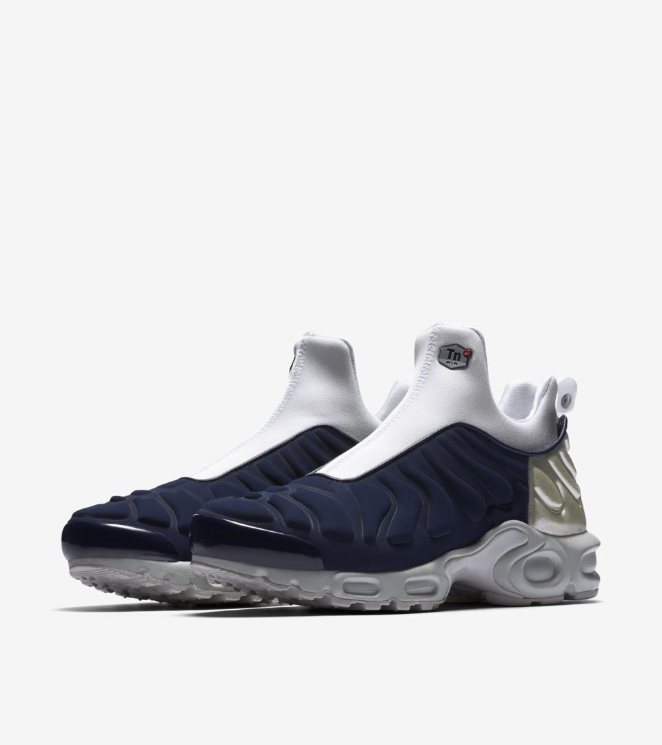 67973ecbfd Women's Air Max Plus Slip 'Midnight Navy'. Nike⁠+ SNKRS