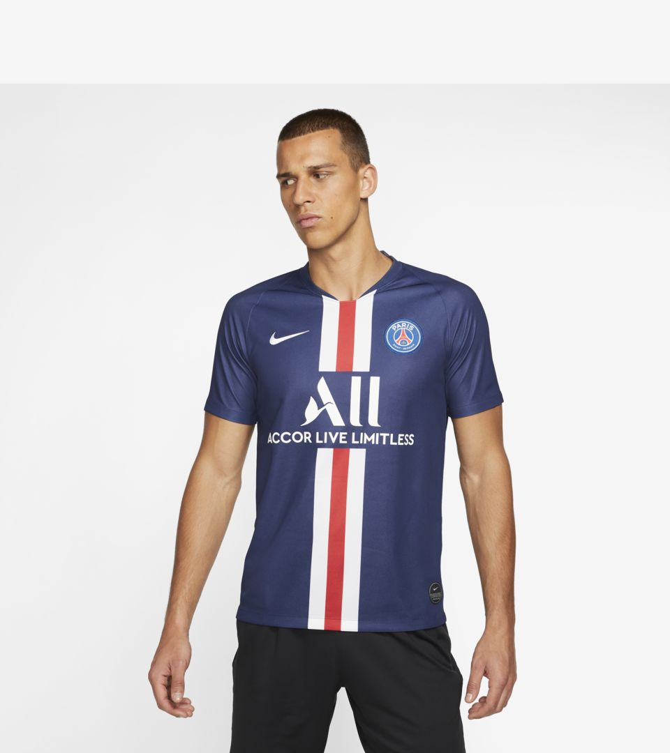 2019/20 Paris Saint Germain Stadium Home Jersey