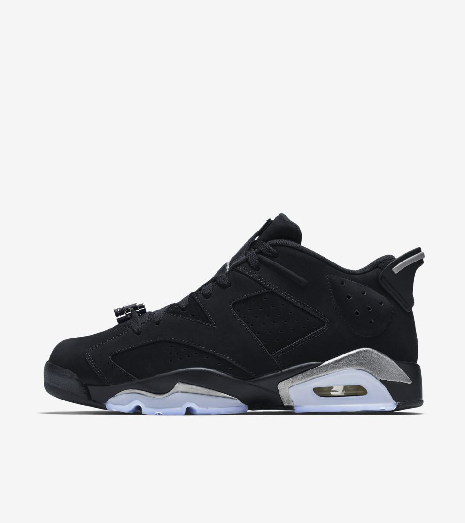 Air Jordan 6 Retro Low 'Metallic Silver' Release Date. Nike⁠+ SNKRS