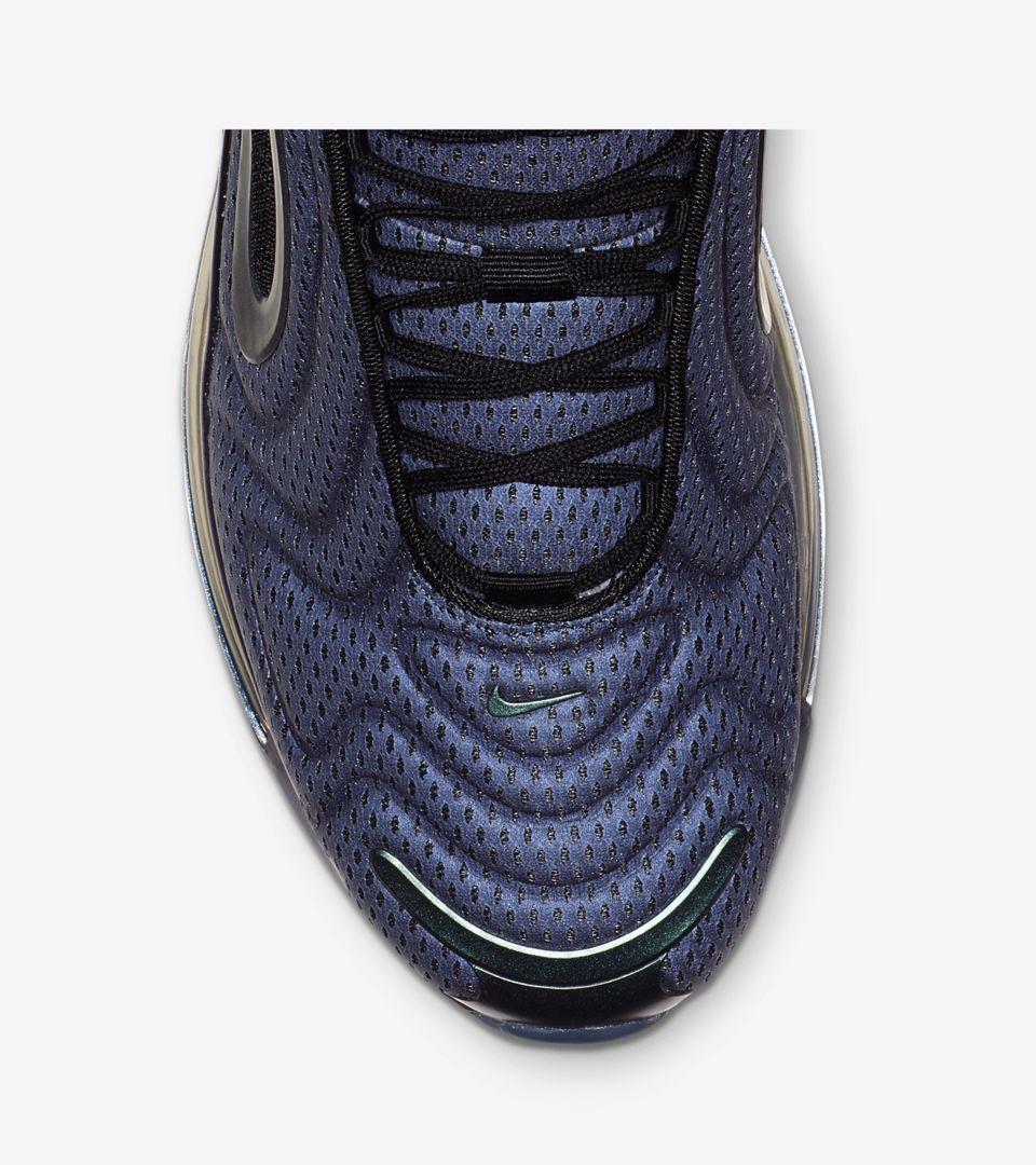 Nike Air Max 720 'Metallic Silver & Black' Release Date