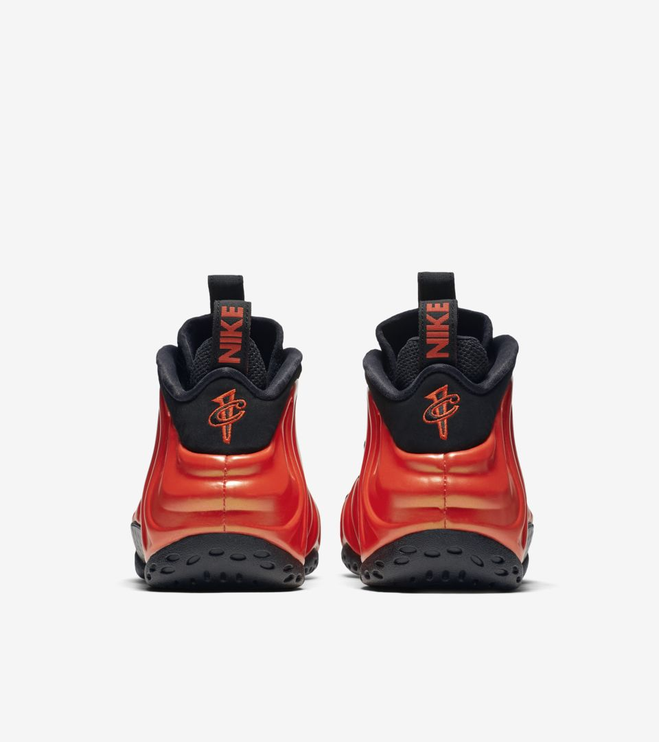 Air Foamposite One  Habanero Red  Release Date. Nike⁠+ SNKRS 8a7c1e545