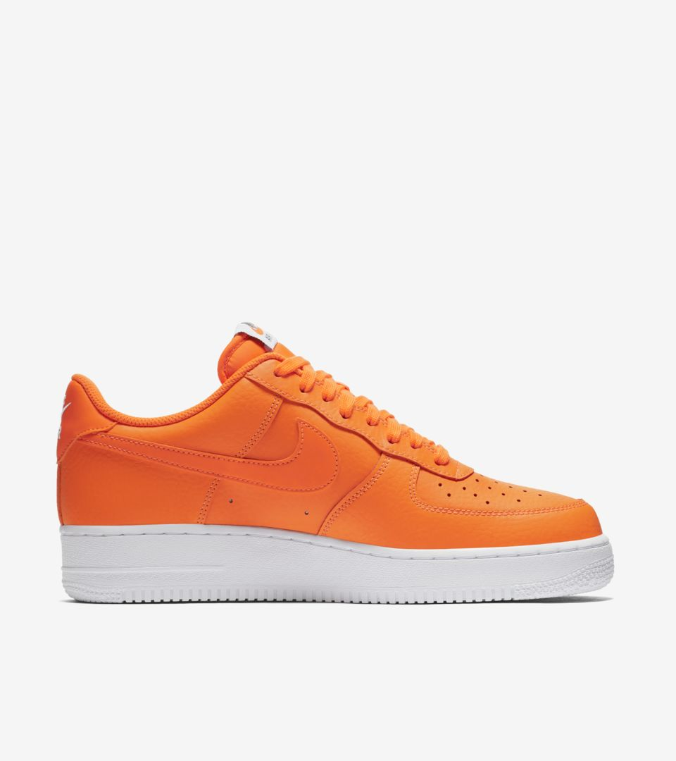 eeb13dfa Nike Air Force 1 JDI Collection 'Total Orange & White' Release Date ...