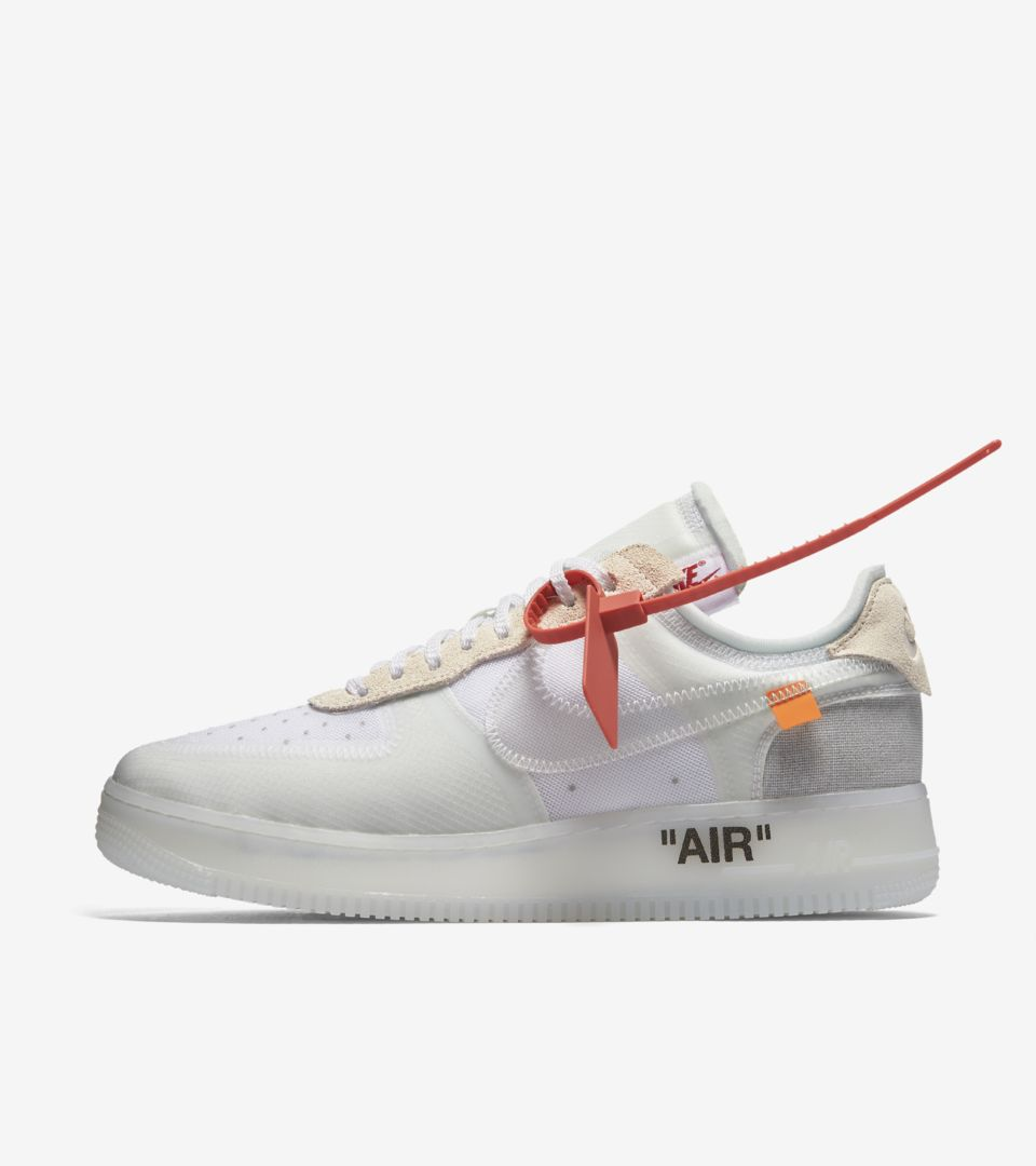 429d53eba3b5ee Nike The Ten Air Force 1 Low  Off White  Release Date. Nike⁠+ Launch GB