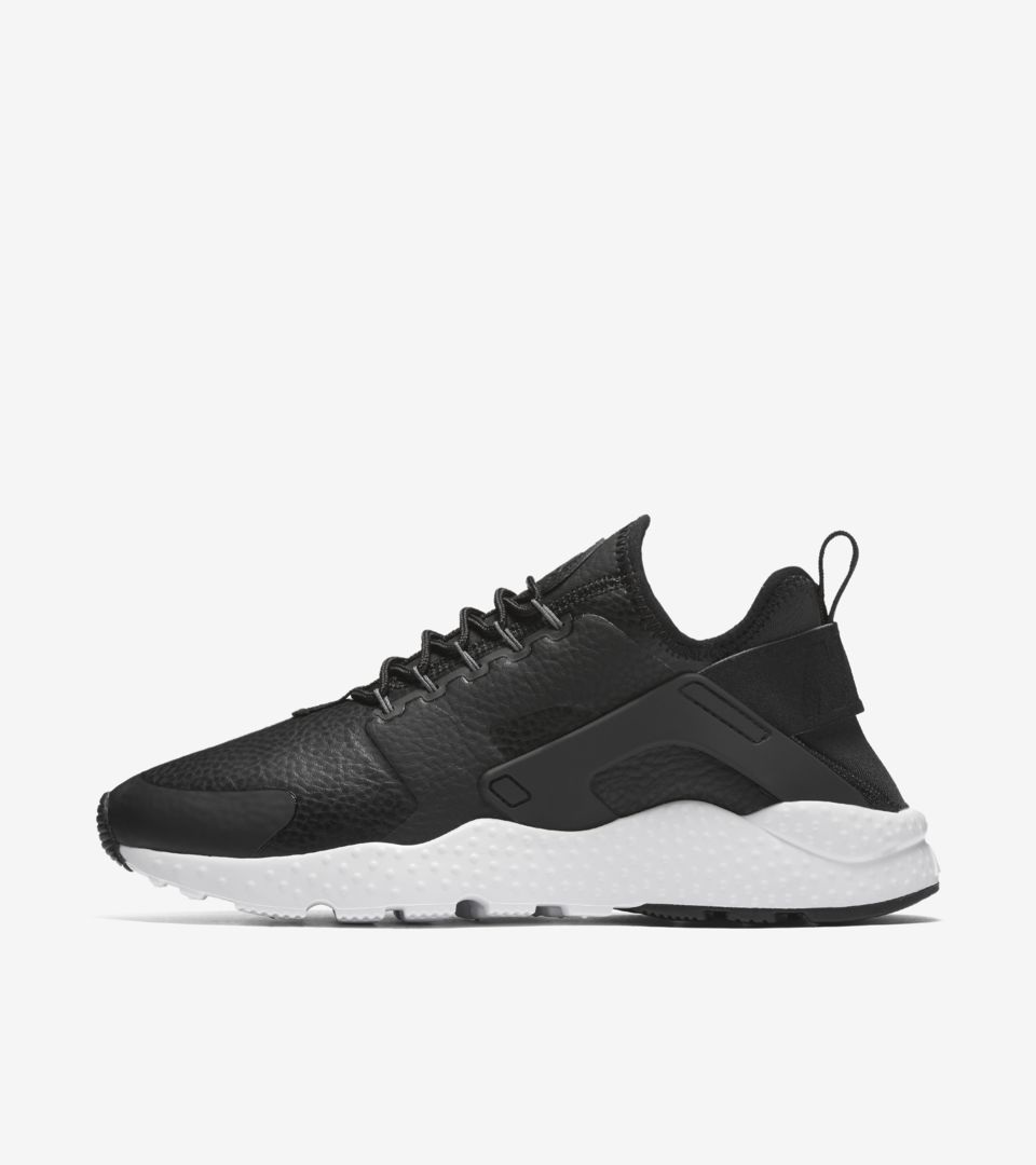 buty nike air huarache run ultra all black damskie
