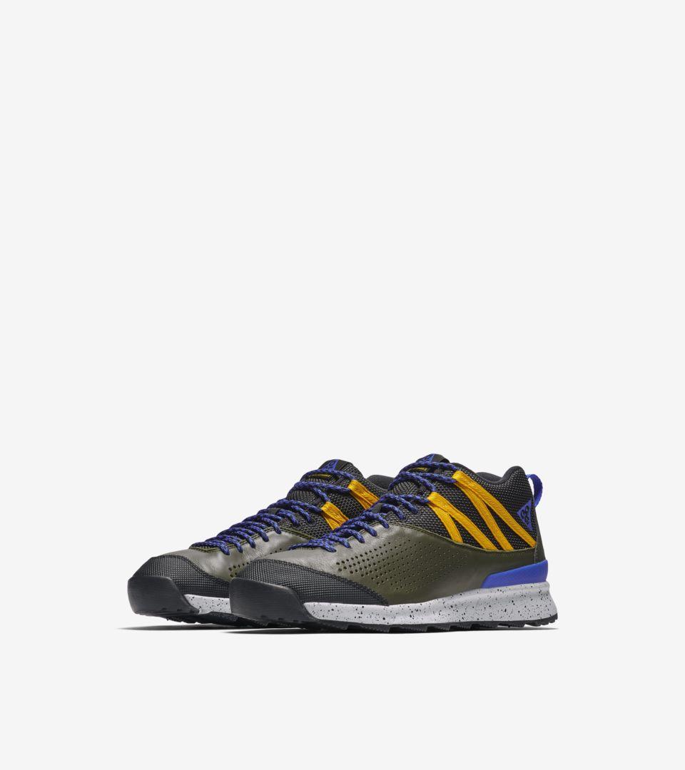 Nike Okwahn 2 'Sequoia & Racer Blue & Yellow Ochre' Release Date