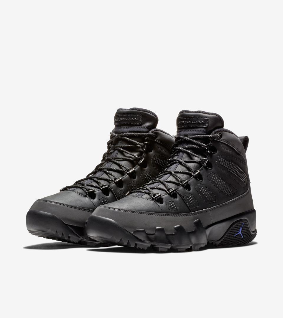 30233580492 Air Jordan 9 Boot 'Black & Concord' Release Date. Nike+ SNKRS