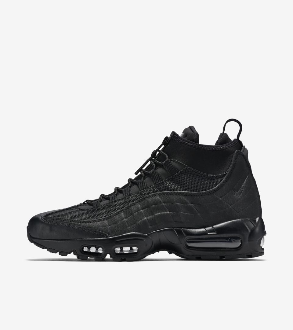1d66596b2b Nike Air Max 95 Sneakerboot 'Triple Black'. Nike⁠+ SNKRS