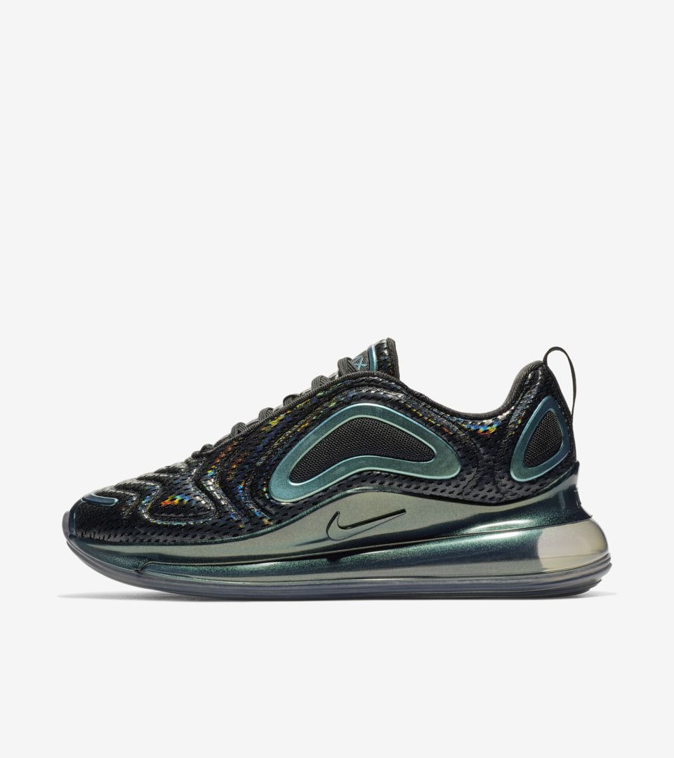 online retailer bee3a 0a3e2 Women s Air Max 720 Iridescent  Black   Anthracite  ...