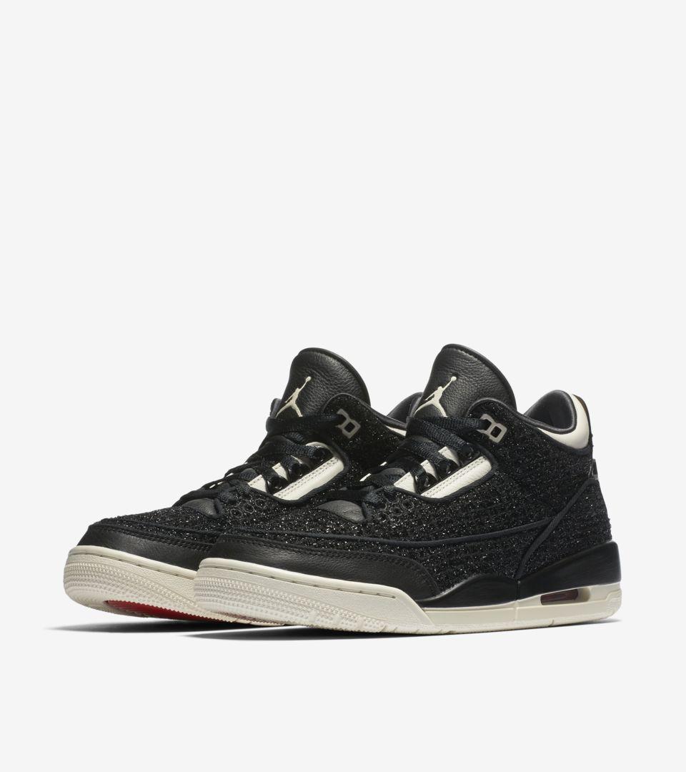 Women's Air Jordan 3 AWOK 'Black & Sail' Release Date