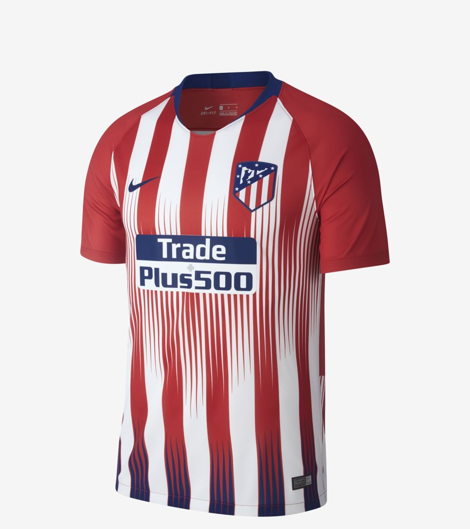dab1ef4b Men's Football Jersey. 2018/19 Atlético de Madrid Stadium Home