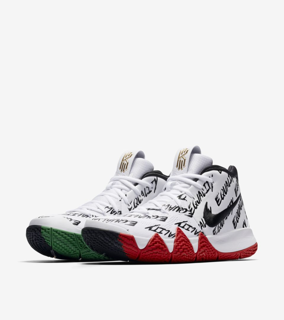 7cc59bd20b56 Nike Kyrie 4  BHM  2018 Release Date. Nike⁠+ SNKRS