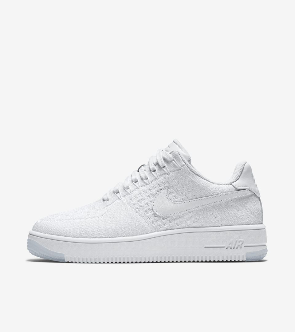 sale retailer c873a 89ce9 Women's Nike Air Force 1 Ultra Flyknit Low 'Triple White ...