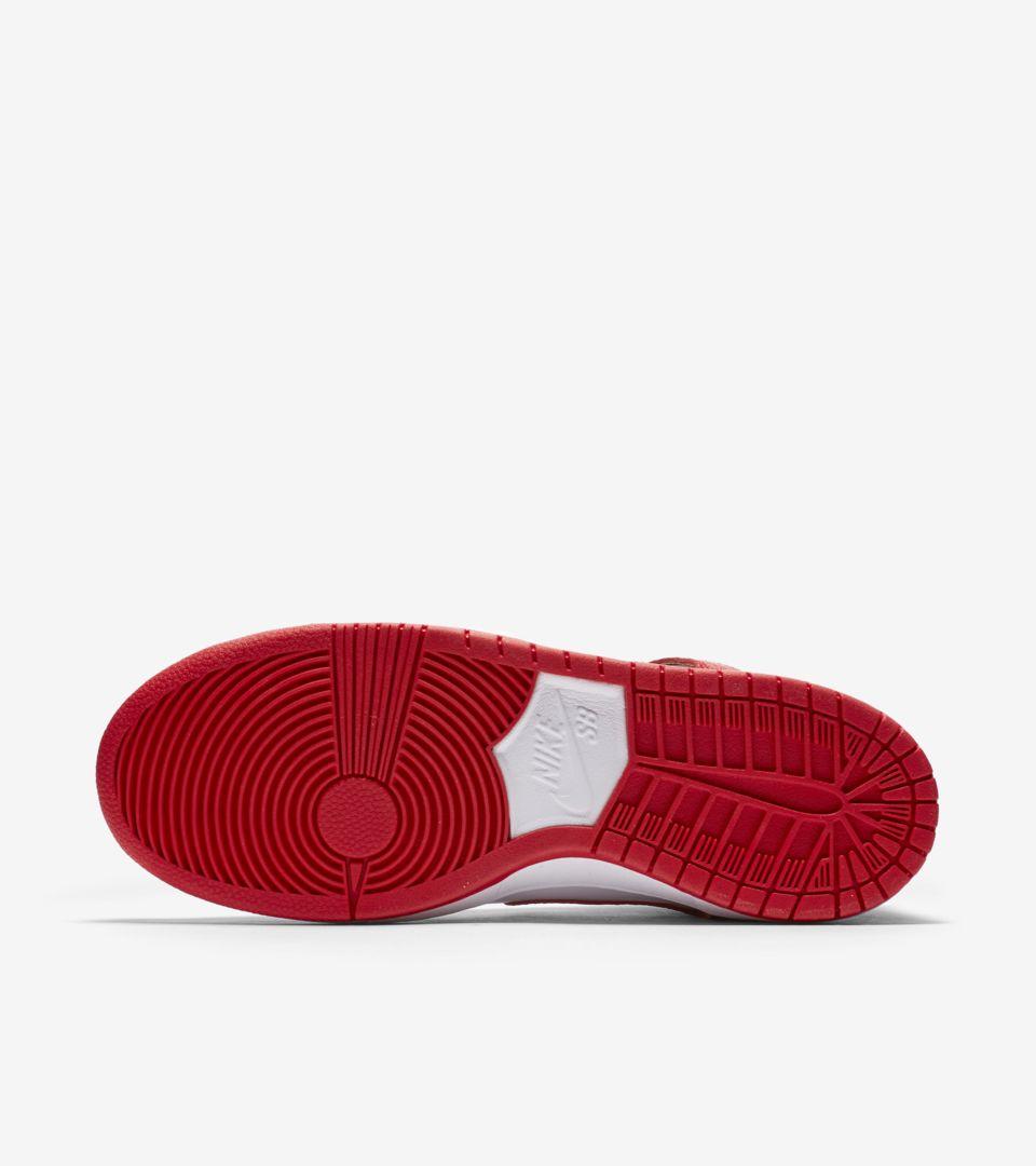 buy popular 4133f 83dae Nike SB Dunk High Pro 'University Red & White' Release Date ...