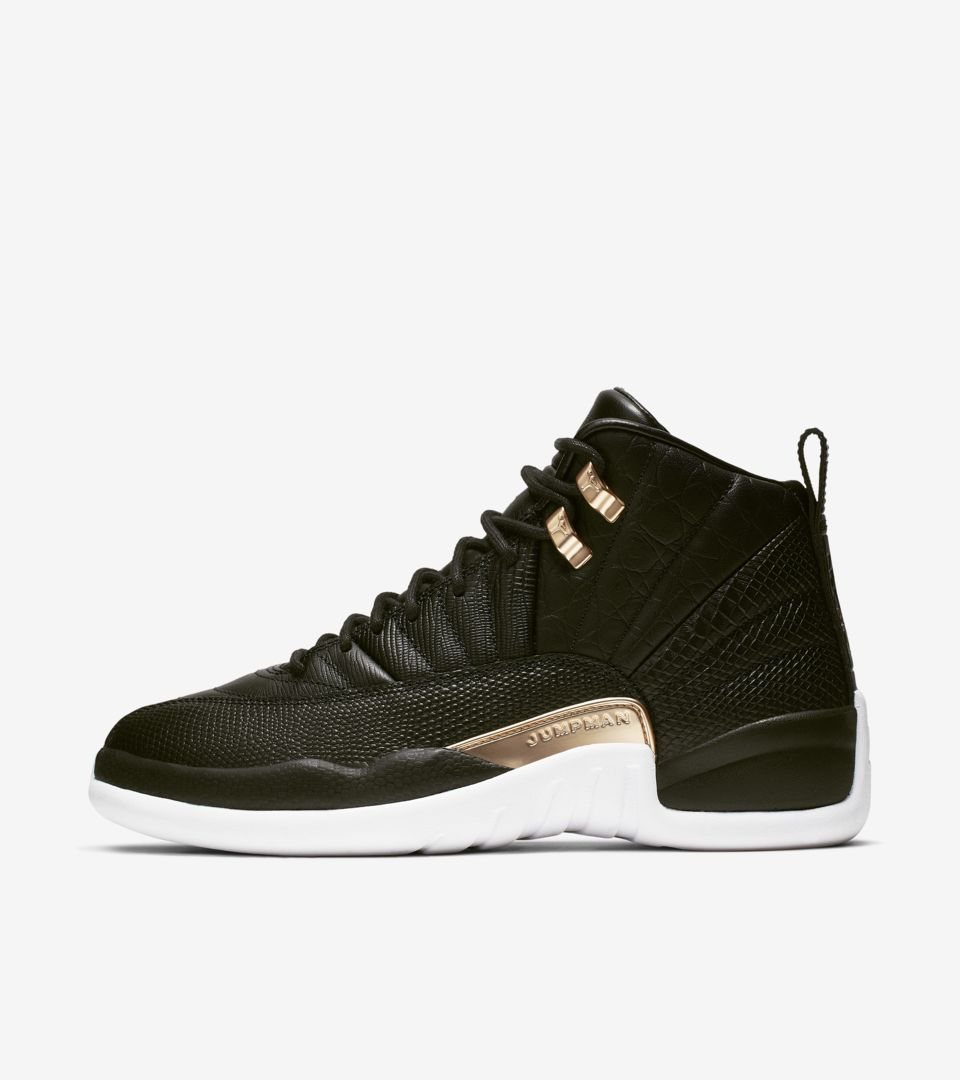 cb920e96ab9b Women s Air Jordan 12  Midnight Black  Release Date
