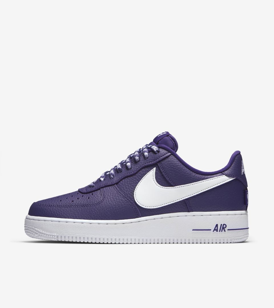 Nike AF 1 Low NBA 'Court Purple & White' Release Date. Nike