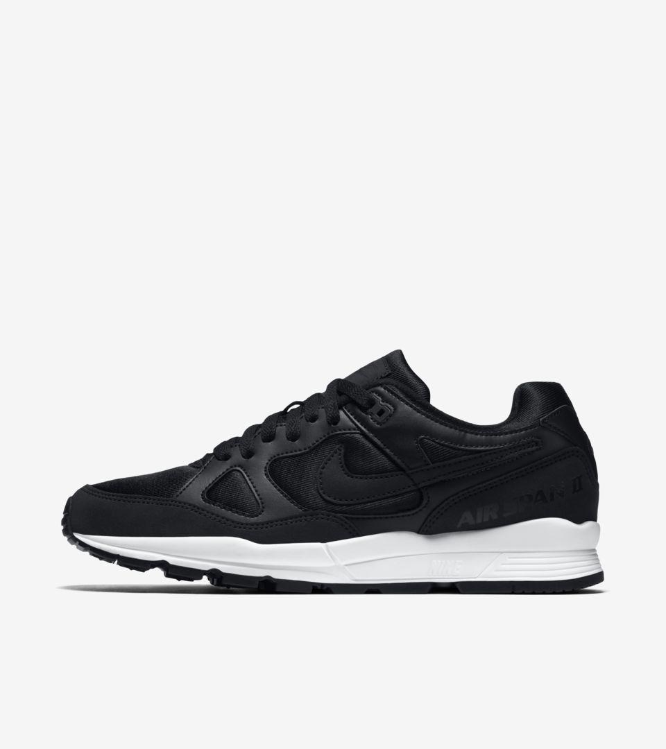 Nike Air Span 2 'Black & White' Release Date. Nike+ Launch LU