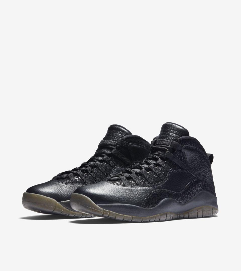 50beb6d56fb63c Air Jordan 10 Retro  OVO   Black  Release Date. Nike+ SNKRS