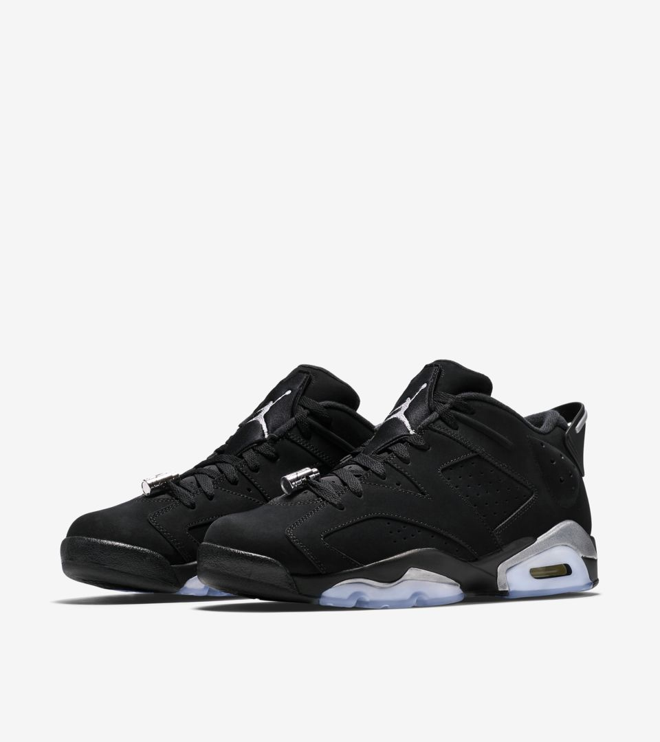 buy online 5562f cd664 Air Jordan 6 Retro Low 'Metallic Silver' Release Date. Nike ...