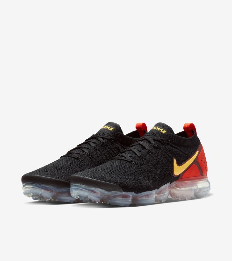 f51829bf74 Nike Air Vapormax 2 'Black & Laser Orange' Release Date. Nike+ SNKRS