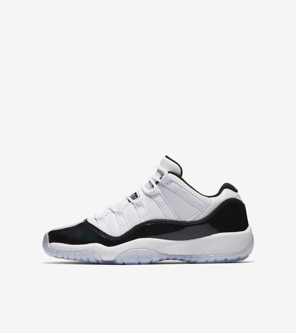 4cc18c6f53cd Air Jordan 11 Low  Iridescent  Release Date. Nike+ SNKRS