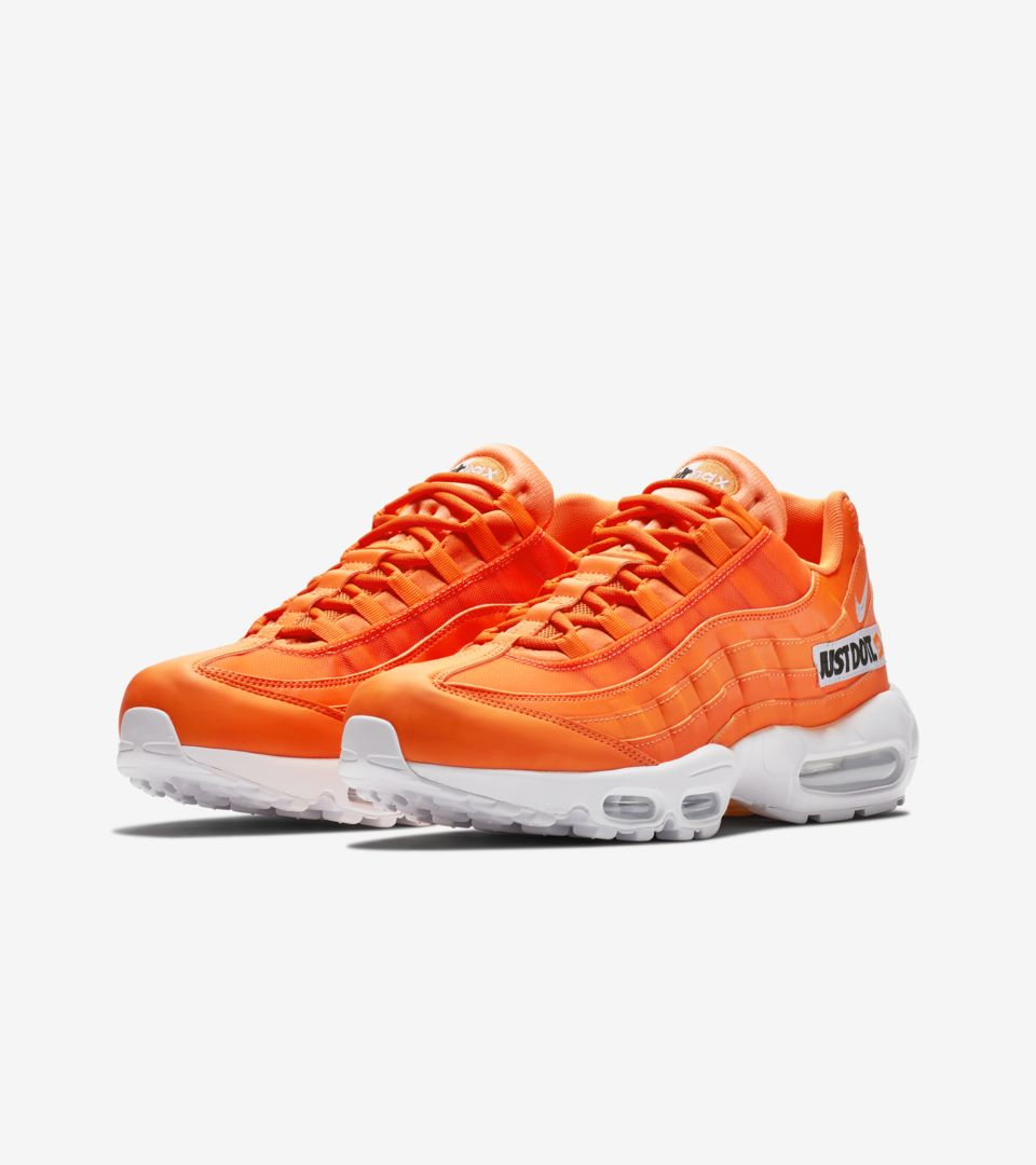 6cd06943c2b2f Nike Air Max 95 JDI Collection 'Total Orange & White' Release Date ...