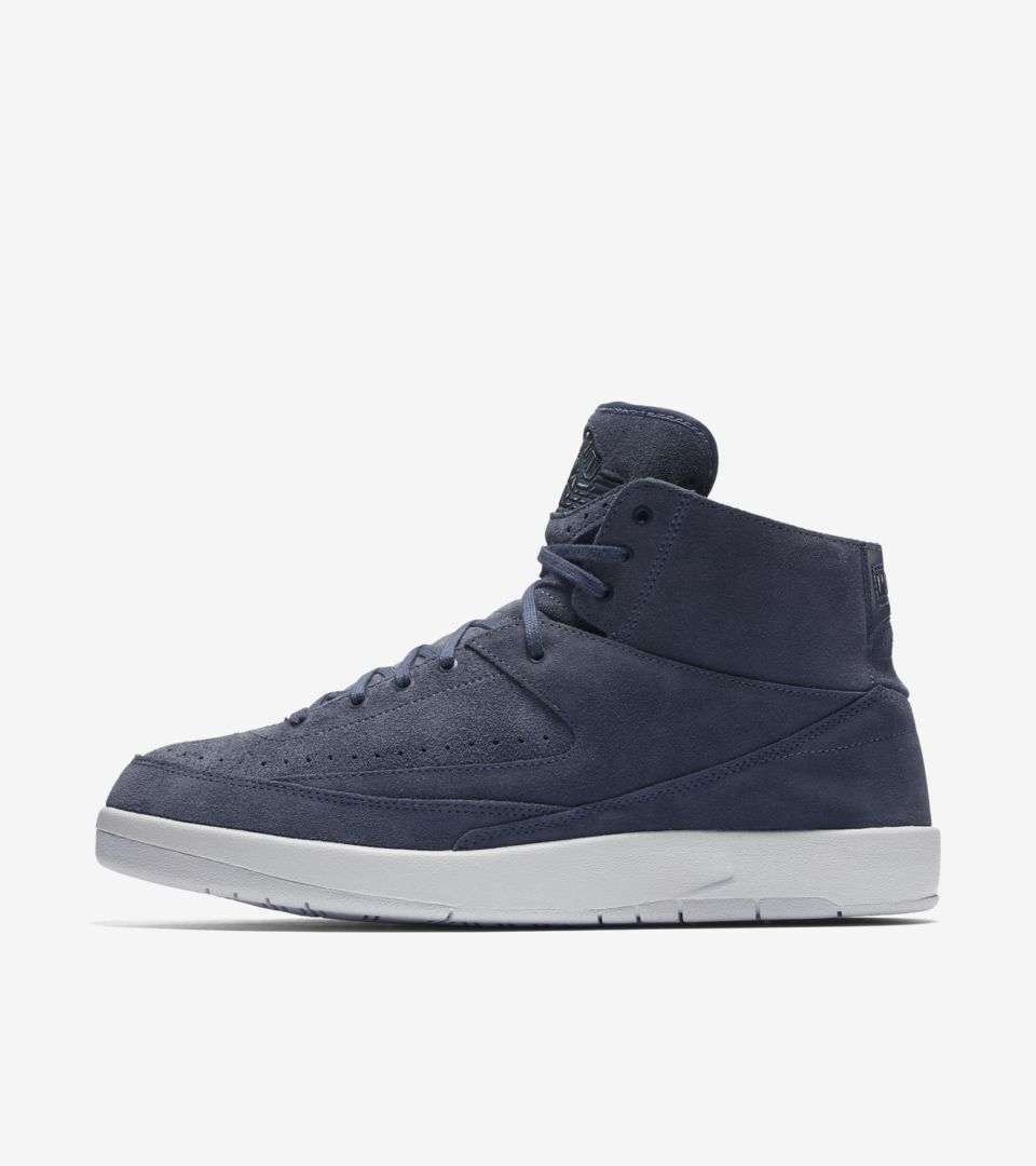 1b71cf0307a Air Jordan 2 Retro Decon 'Thunder Blue' Release Date. Nike⁠+ SNKRS