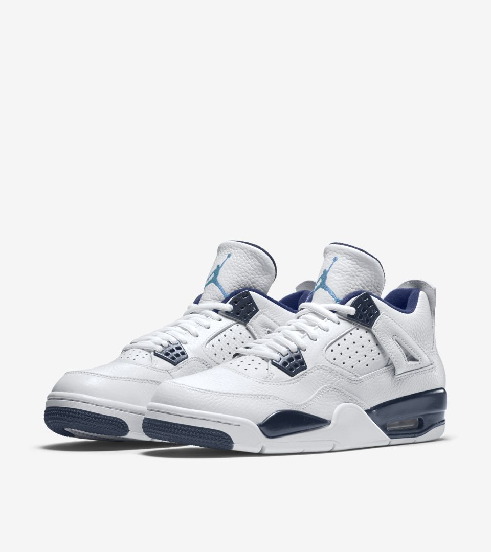 6cccb35374fb Air Jordan 4 Retro  Legend Blue  Release Date. Nike⁠+ SNKRS
