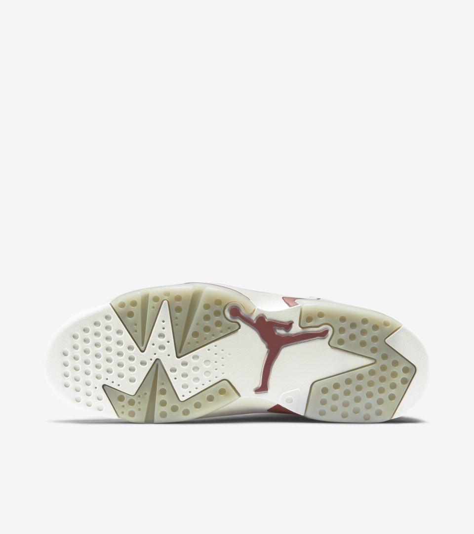 1b3439cdb1f600 Air Jordan 6 Retro  Maroon  Release Date. Nike+ SNKRS