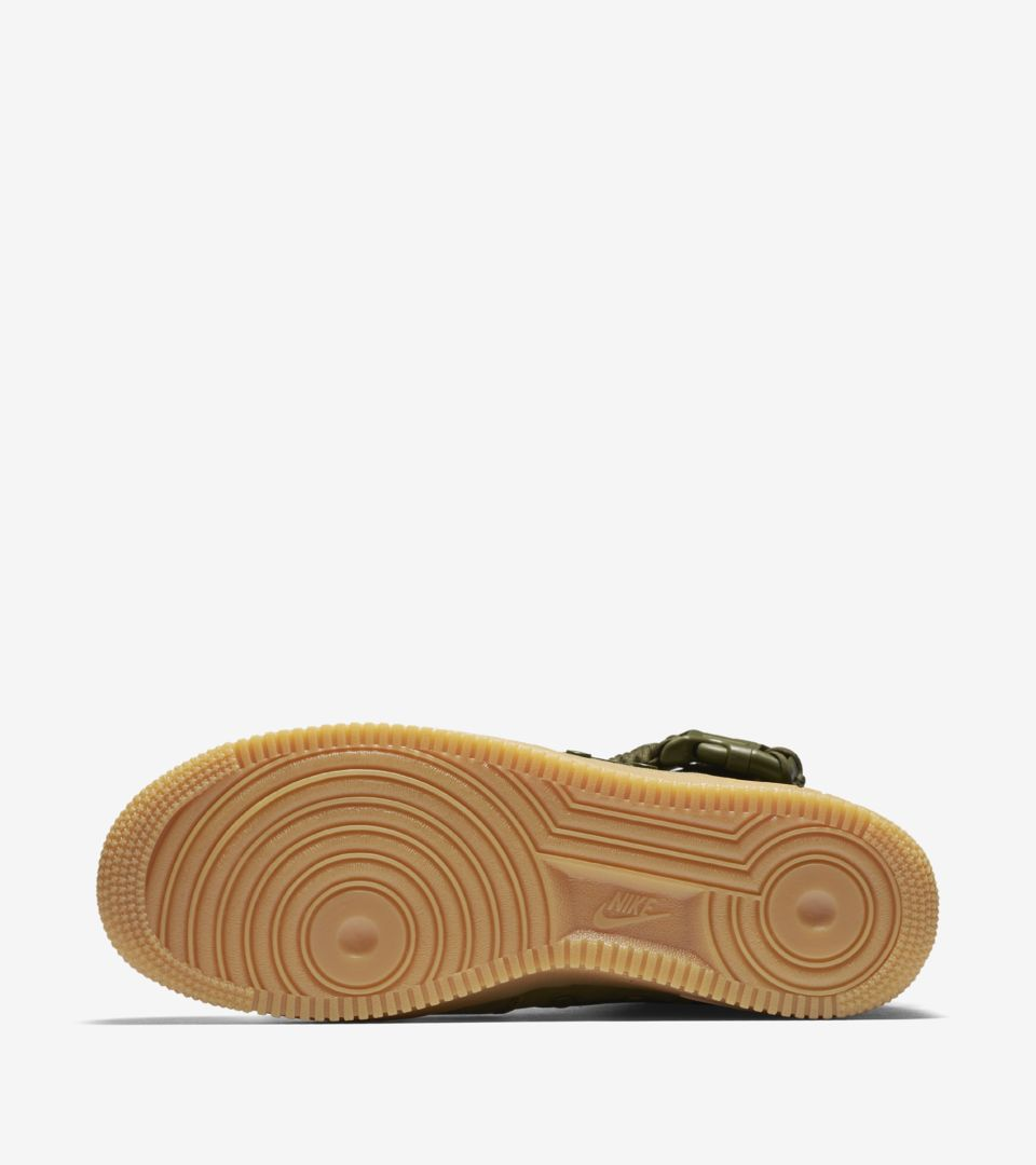 Nike Special Field Air Force 1 Faded Olive Gum Men Sneaker