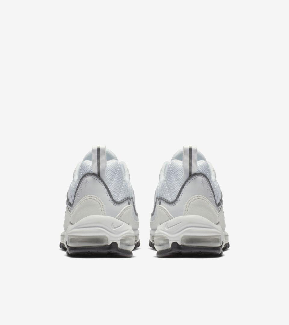 Nike Women s Air Max 98  White   Reflective Silver  Release Date ... 561c511f7