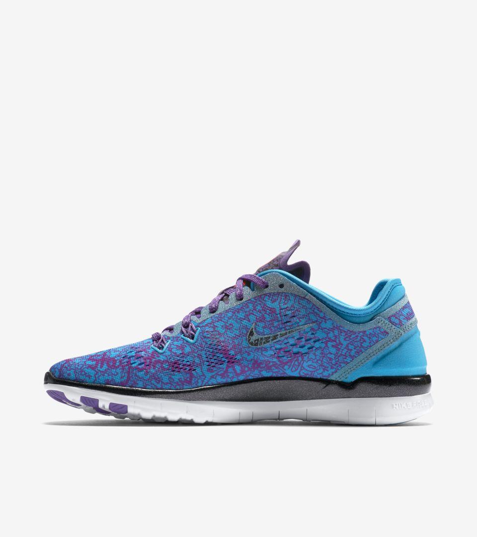85e4099d6001 Women s Nike Free 5.0 TR Fit Doernbecher  Ultraviolet   Blue Lagoon ...
