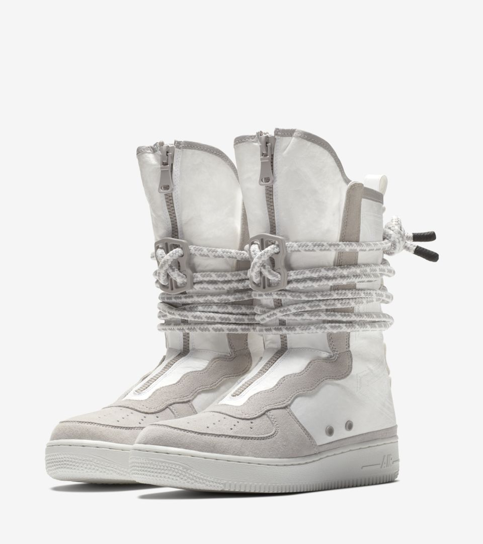 innovative design d0fab 548af Nike SF AF-1 Hi All Star 2018 'Vast Grey & White' Release ...
