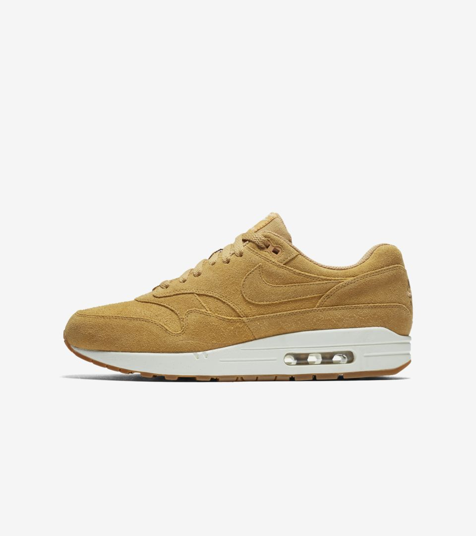 detailed look 573eb 7431a Nike Air Max 1 Premium  Flax  Release Date. Nike+ SNKRS