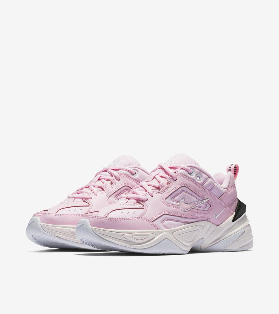 Nike Women's M2K Tekno 'Pink Foam & Phantom' Release Date. Nike+ SNKRS