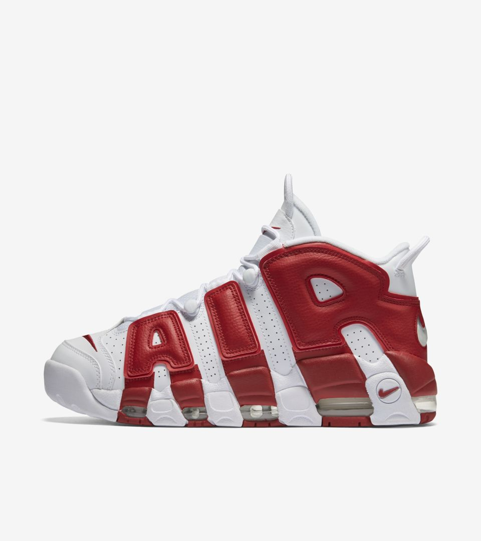 61e4c0cd5898 Nike Air More Uptempo  Varsity Red . Nike⁠+ SNKRS