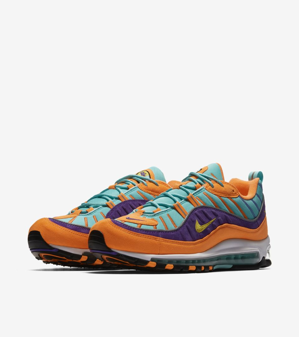 quality design 37dc2 94556 Nike Air Max 98 Cone  Tour Yellow Release Date. Nike⁠+ SNKRS