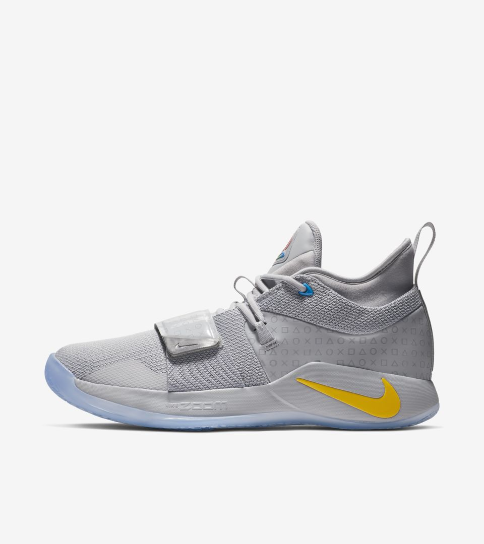online retailer 951c5 93427 PG 2.5 Playstation 'Wolf Grey' Release Date. Nike+ SNKRS