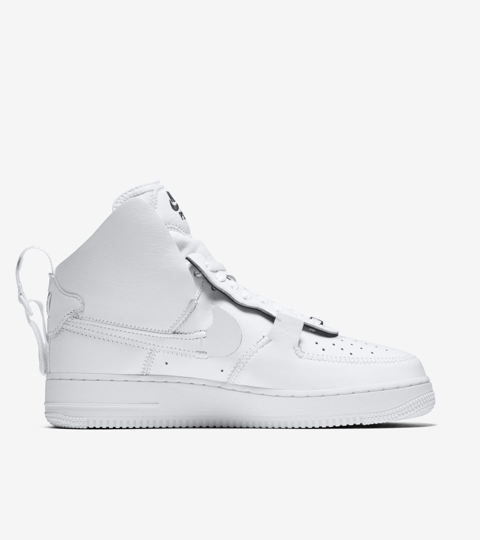 Nike Air Force 1 High PSNY 'Triple White' Release Date
