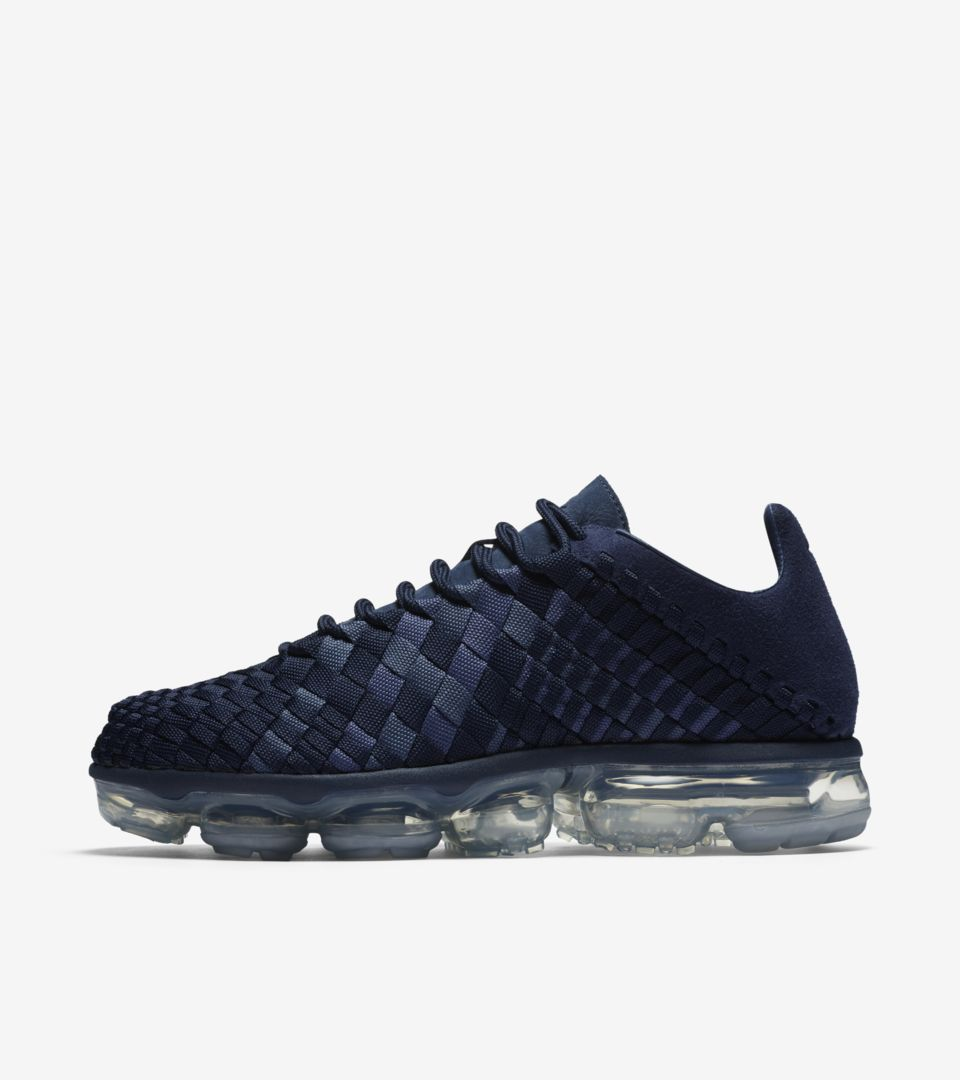 Nike Air Vapormax Inneva  Midnight Navy   Metallic Silver  Release ... 76314ce66