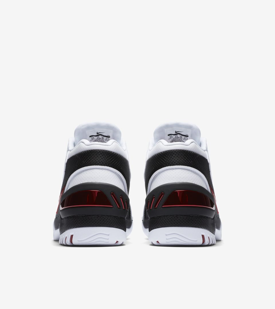 033122eb7299 Nike Air Zoom Generation  White   Varsity Crimson   Black  Release ...