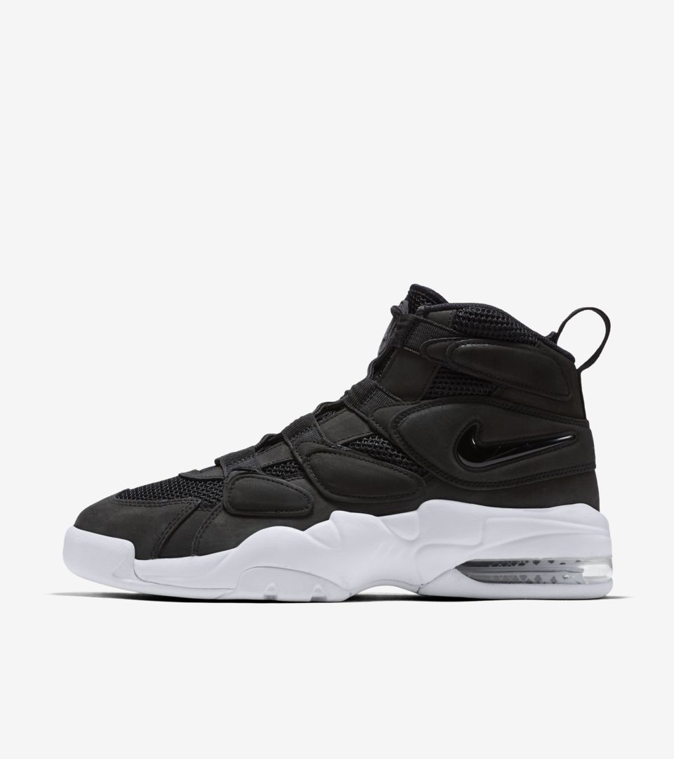 5aa0ee9bfb1cf8 Nike Air Max2 Uptempo  Black   White . Nike⁠+ SNKRS