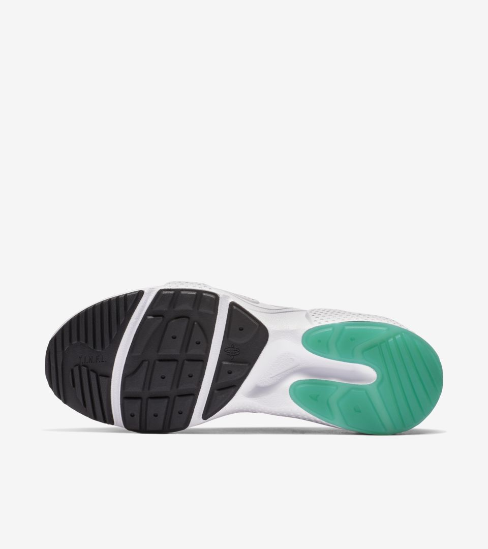 san francisco 1b727 209da ... Nike Huarache E.D.G.E. TXT QS  White   Clear Emerald   Total Orange  ...