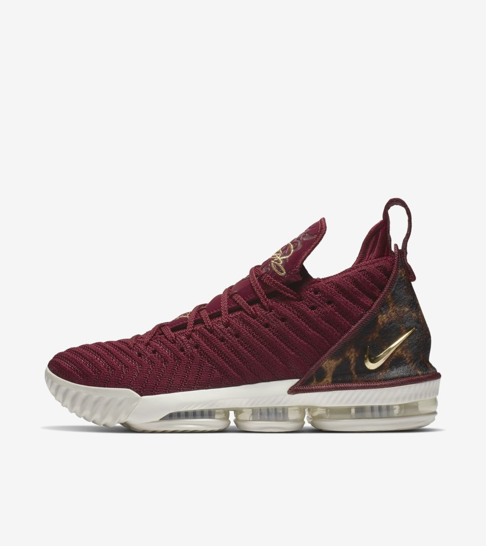 8e3dcc0d024 Lebron 16 King  Team Red   Metallic Gold  Release Date. Nike⁠+ SNKRS
