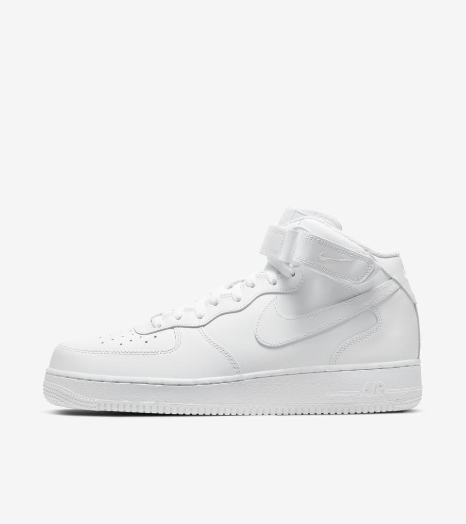 Nike Air Force 1 Mid 'Triple White