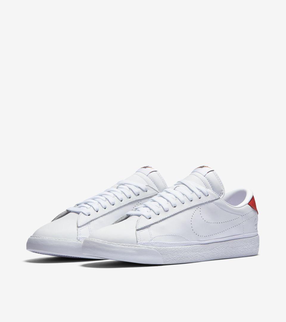 1e536de16879 NikeLab x Fragment Zoom Tennis Classic  White   University Red ...
