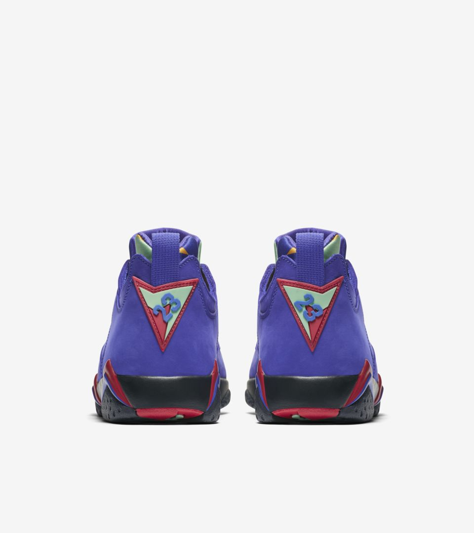 reputable site 12ec9 fa25c ... Air Jordan VII Low NRG  Bright Concord  Release Date