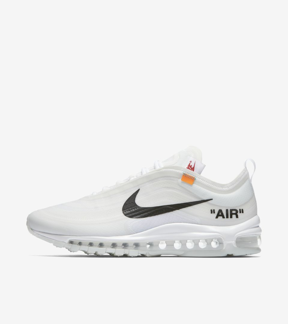 Nike The Ten Air Max 97 'Off White' Release Date. Nike SNKRS