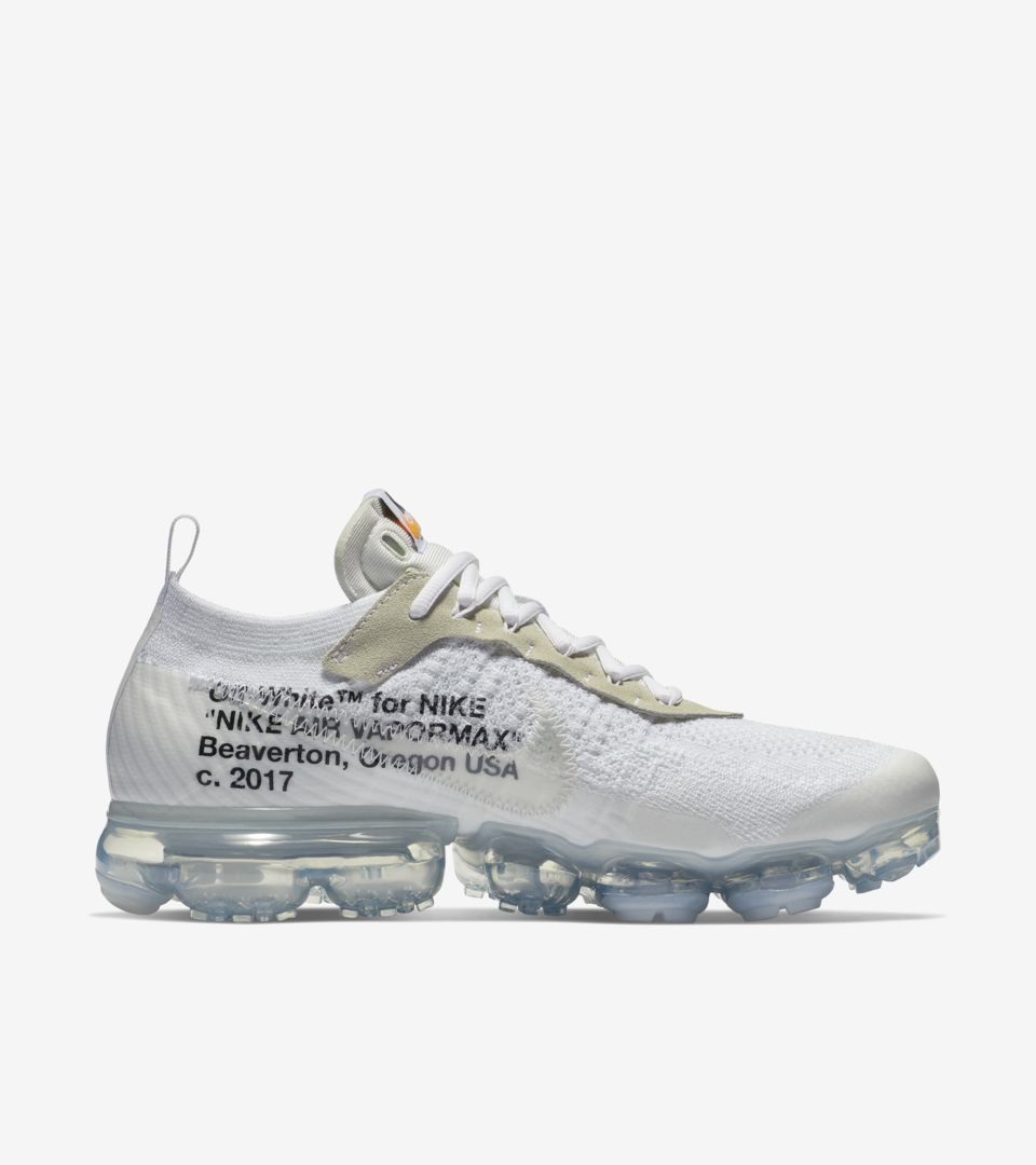 61b179ed3e5 Nike The Ten Air Vapormax Off-White  White  Release Date. Nike⁠+ SNKRS
