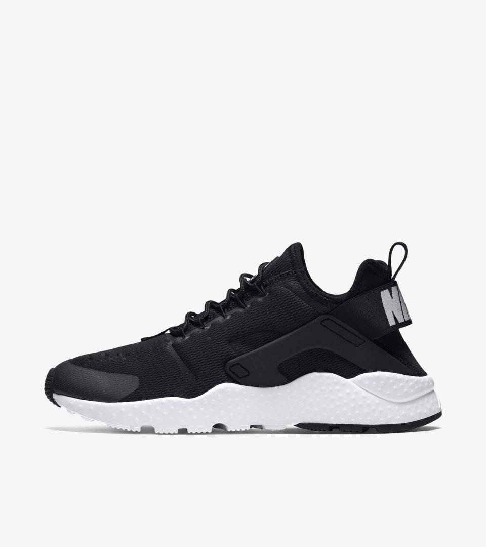 0277734b3c20 Women s Nike Air Huarache Ultra  Black   White . Nike+ SNKRS