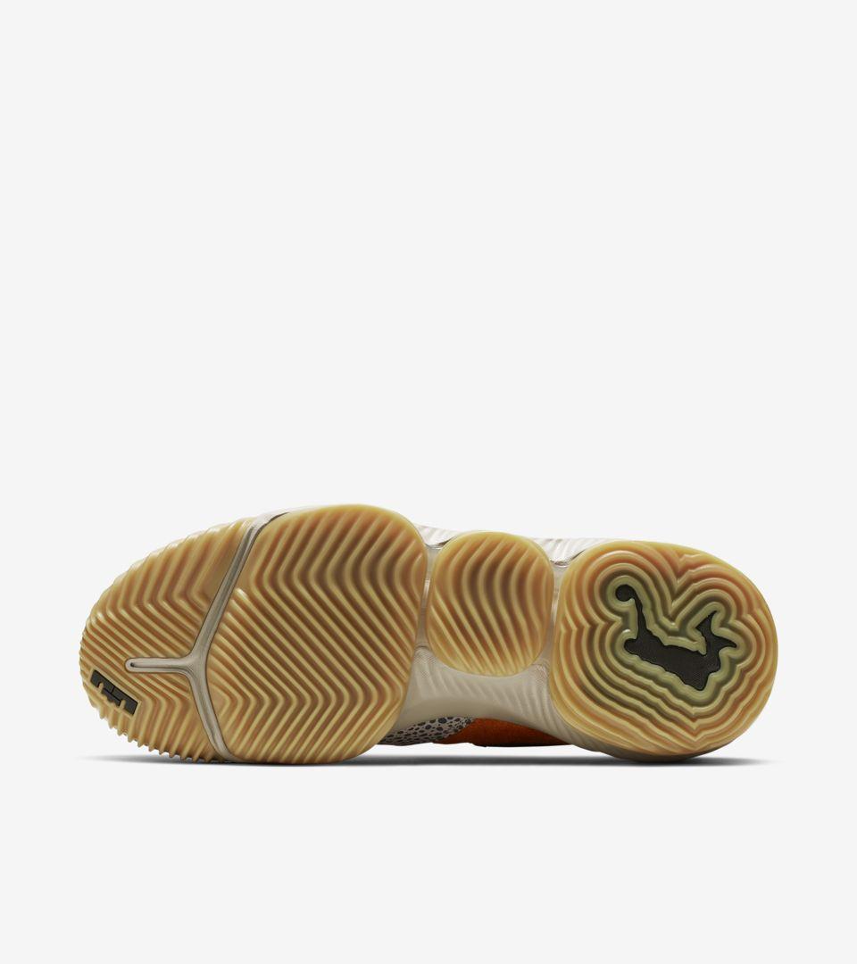 3c03a3e3fd771 Nike LeBron 16 Low Atmos  Safari  Release Date. Nike+ SNKRS